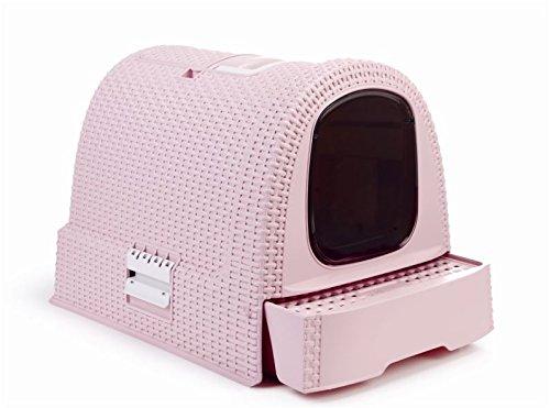 Curver Petlife Maison de toilette pour chat Anthracite