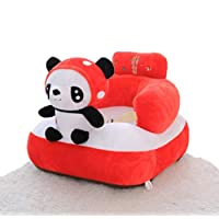 HJLHFD Panda Baby Sofa Chair Baby Learning Sitting Artifact Child Training Sitting Seat 6 Months Sitting Standing Shatter-Resistant Waist Chair