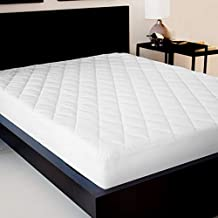 SLEEP SPA Premium QUILTED FITTED WATERPROOF DOUBLE MATTRESS PROTECTOR (White,72X48)