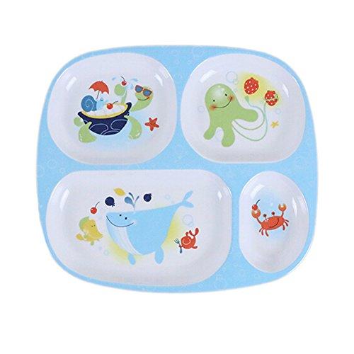 Gro?e Teller / Geteilte Teller / Baby-Dinner Tray C - Platten Aufgeteilt Für Kinder