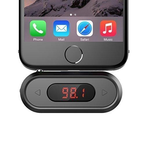 Trasmettitore FM, Doosl® 3,5 millimetri Trasmettitore FM chiamata vivavoce kit