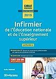 Infirmier de l'Education natioanle et de l'enseignement supérieur - Catégorie A, tout-en-un inclus annales 2018