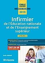 Infirmier de l'Education natioanle et de l'enseignement supérieur - Catégorie A, tout-en-un inclus annales 2018 de Badia Jabrane