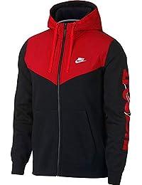 Nike M NSW Hbr+ Hoodie Fz FLC Veste Homme