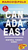 Canada East Marco Polo Pocket Travel Guide - with pull out map: Montreal, Toronto and Quebec (Marco Polo Travel Guides)