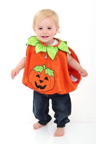 Kürbis Kostüm für Babys - Halloween Kostüm für Babys - Pumpkin - Slimy (Für Baby Kostüm Toad)
