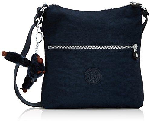 Kipling - Zamor, Shoppers y bolsos de hombro Mujer, Blau (True Blue), One Size