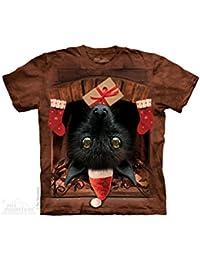 The Mountain Weihnachts Flughund Weihnachten Lizenz T-Shirt bunt