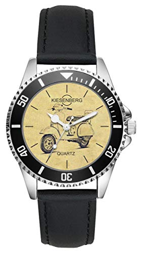 Regalo Vespa PX Motocicleta Fan Conductor Kiesenberg Reloj L-20424
