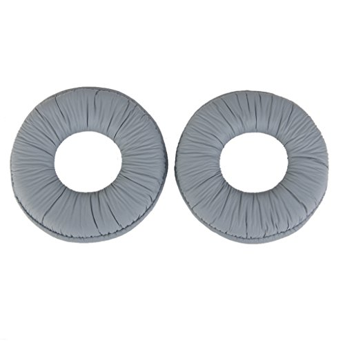 Imported-Ear-Pads-Cushions-for-Sony-MDR-ZX100-ZX300-Headset-Headphone-Grey-14019503MG