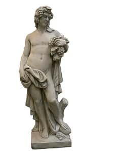 Bacchus, sculpture-statuette en pierre