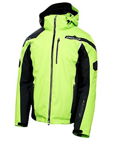 Spyder Herren Skijacke 143054-341 Quest Titan Jacket Mantis Green - S