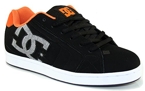 DC Shoes Net, Sneakers Basses homme Black/orange
