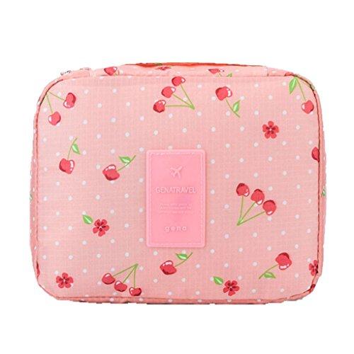BZLine® Sac à cosmétiques Travel Toiletry Wash Sac de Rangement Maquillage -Oxford-21 x 16 x 8 cm (D)