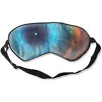 """Schlafaugenmasken mit Aufschrift """"Eye of God"""", Helix, Nebel, Seide, verstellbarer Riemen preisvergleich bei billige-tabletten.eu"""