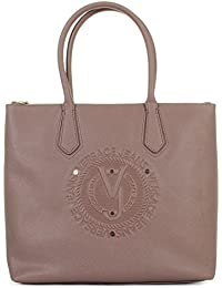Versace Jeans - Borsa Versace Jeans cipria logo - E1VQBBQ1 - Cipria 685587c3b04