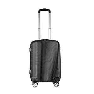 Panana 20 inch Cabin Hand Luggage Suitcase Ryanair 4 Wheeled ABS Travel Case Bag easyjet