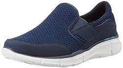Skechers Mens Equalizer Persistent Navy Nordic Walking Shoes - 6 UK/India (39.5 EU)(7 US)
