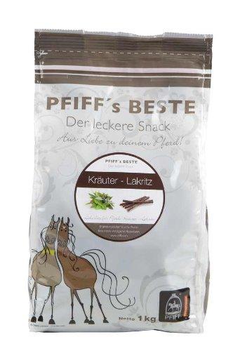 (PFIFF Beste Pferdebonbons, Kräuter-Lakritz 1kg)
