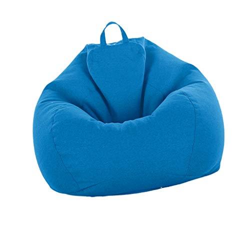 Homyl Große Sitzsack Hülle Bezug Sitzkissen Beanbag in Verschiedene Farben - Himmelblau