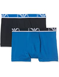 Emporio Armani Underwear 1112687P715, Boxer Homme, Bleu (BLU CINA/MARINE), Large