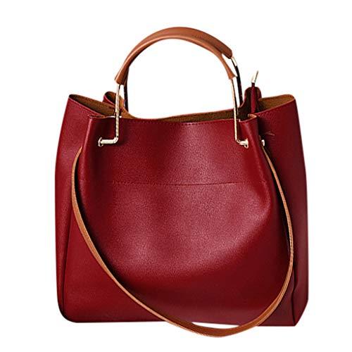OIKAY Mode Damen Tasche Handtasche, Schultertasche Umhängetasche Mode Neue Handtasche Frauen Umhängetasche Schultertasche Strand Elegant Tasche Mädchen 0410@069 -