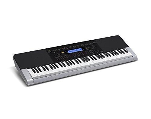 CASIO WK 240   TECLADO MIDI (BOTONES  CORRIENTE ALTERNA  BATERIA  DC  LCD  USB)