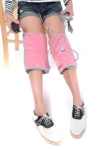 Elektro-Kniewärmer Warm Gelenke Heizung Knees Massage Instrument Physiotherapie FJ001 Startseite Portable (Pink)