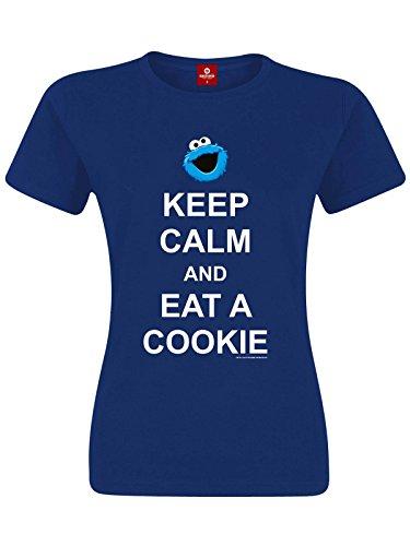 sesame-street-keep-calm-and-eat-a-cookie-t-shirt-blau-xxl