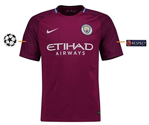 Trikot Herren Manchester City 2017-2018 Away UCL (XXL) (City Auswärts Trikot)