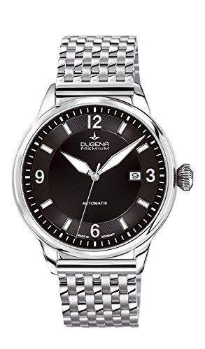 Dugena Gents Watch XL Analogue Automatic Dugena 7090300 Premium Stainless Steel