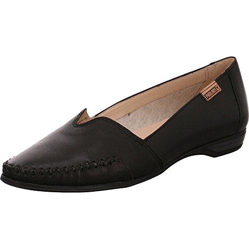 Pikolinos W0s-4681 Black, Mocassins Pour Femme Noir