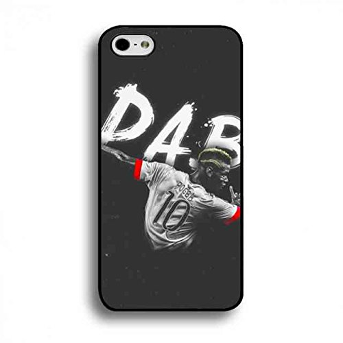 Juventus Turin #10 Paul Pogba Cover,Apple iPhone 6/6S Paul Pogba DAB Cover,plastica dura ultra sottile protettivo Paul Pogba Cover Custodia Cover