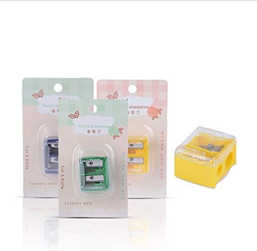 Bone Nützlicher Kosmetik-Anspitzer für Eyeliner/Lippenstifte, zweiköpfig, hart, für -