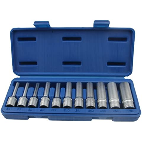 11 x Special Set di chiavi a bussola lunghe maschio a bussola per dadi con 3 cm/20,32 (8