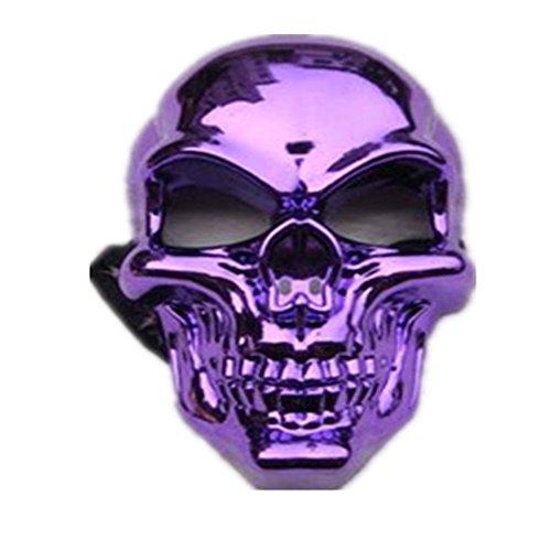 Halloween Masquerade Horror Make-up Kostüme Gesichtsmaske - Make-up-halloween-ideen Geist