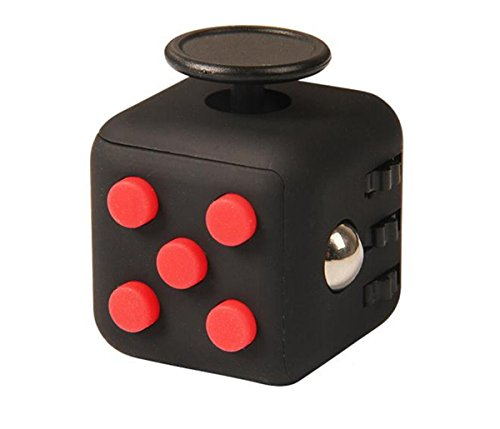 Annein Stresswürfel wie Fidget Cube als perfektes Spielzeug für unterwegs, bei der Arbeit oder im Wartezimmer (B)