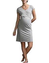Cinnamou Vestidos embarazada fotografia, Mangas cortas vestido fotos embarazada Ropa Premamá Vestido para dormir Verano