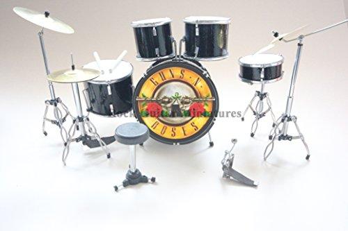 RGM370 Guns N Roses - Kit de Tambor en Miniatura