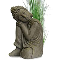 INtrenDU® Figura de Buda Para Casa y Jardín - Altura 44cm