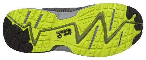 Jack Wolfskin Venture Fly Low M, Scarpe da Trail Running Uomo Grigio (Flashing Green)