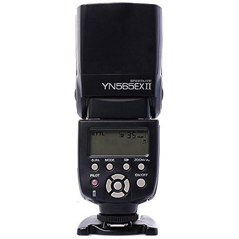 YONGNUO YN-565EX II E-TTL flash Speedlight de Multi-función Flash para Canon DSLR Cámara+WINGONEER® difusor