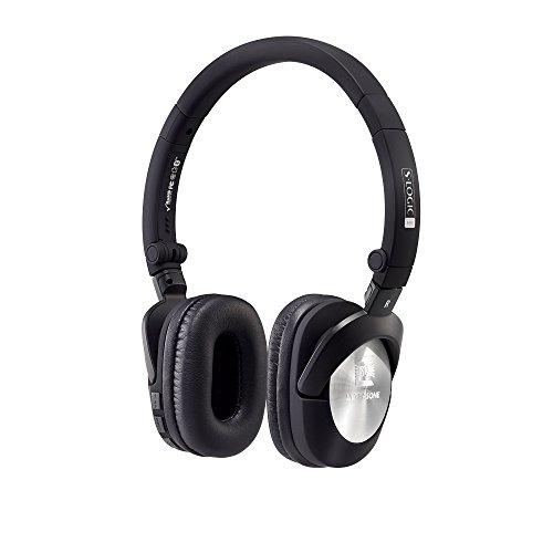 ULTRASONE GO aptX Bluetooth Kopfhörer in Schwarz-Silber mit Akku | Inklusive Transport-Tasche und Kabel thumbnail