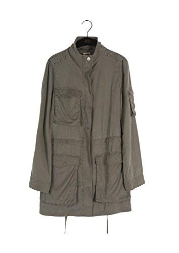 Twist & Tango Women's Corinne Cargo Jacket Long Sleeve Jacket, Green (Khaki Green), 12 (Manufacturer Size:38)