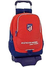 Atletico de Madrid 2018 Sac voyage, 50 cm, 31 liters, Multicolore (Rojo y azul)