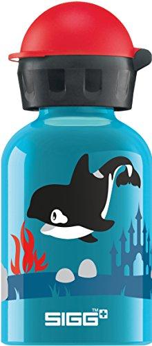 Sigg Orca Family Gourde d'eau Mixte Enfant, Turquoise, 0,3 L