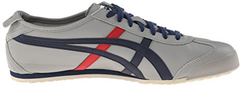 Onitsuka Tiger by Asics Mexico 66 Cuir Baskets Light Grey-Navy