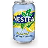 Nestea - Bebida refrescante de limón sin azúcar - 330 ml