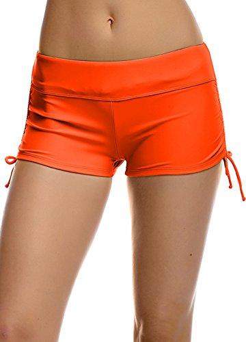 womens-premium-quality-black-casual-boy-leg-swim-shorts