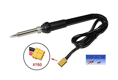 Modellbau Eibl® Lötkolben 30w 12V 3s Lipo Akku mit XT60 Stecker - Ideal für den Modellbau und für Elektronik Bastelarbeiten